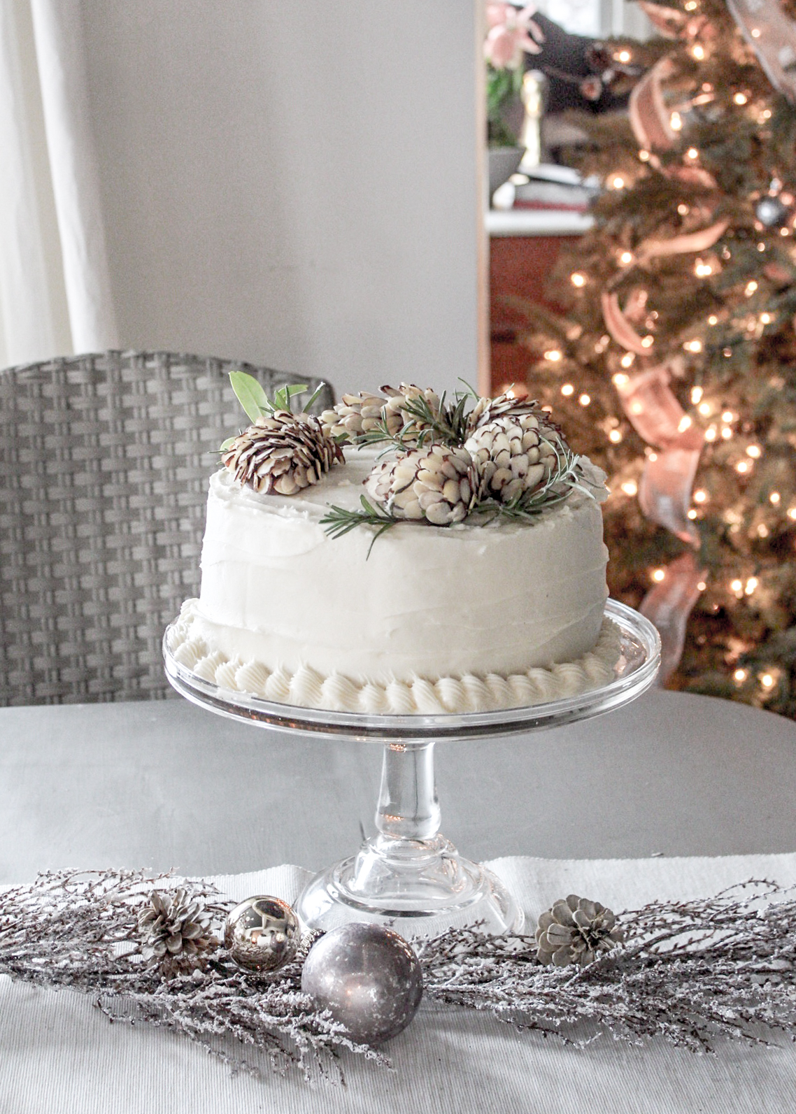 Peachy A Pine Cone Cake Creation For Winter Birthdays And Holidays The Funny Birthday Cards Online Eattedamsfinfo
